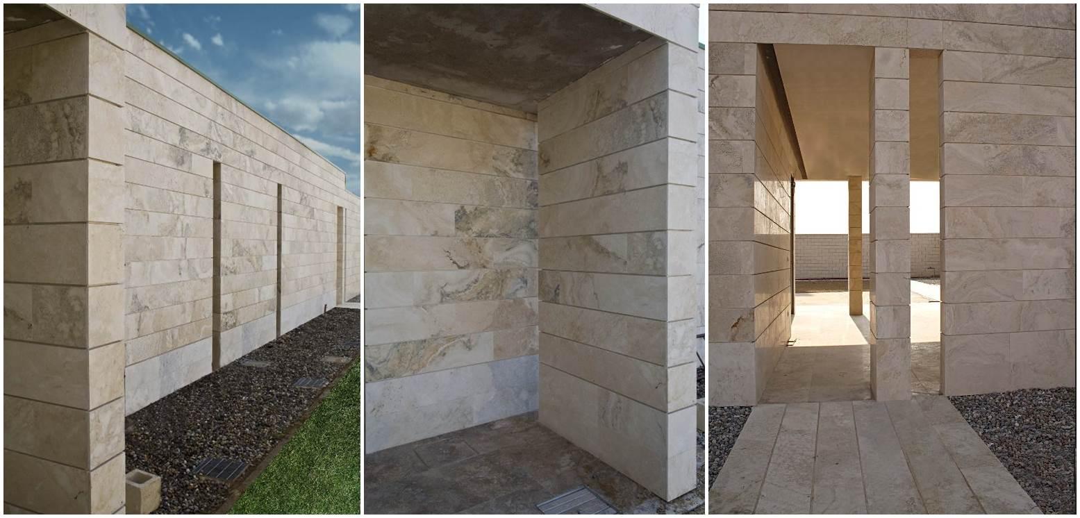 Rivestimento naturale for Facciate di case in mattoni e pietra