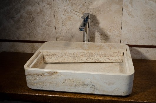 lavabo in travertino loaded italystonemarblecom