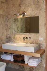Per rinnovare il bagno pavimenti e rivestimenti in travertino - Rinnovare il bagno ...