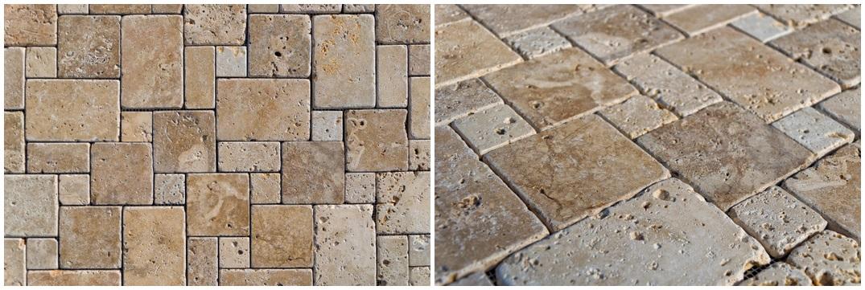 Nuovo mosaico per bagno (o cucina) in pietra | Italystonemarble.com