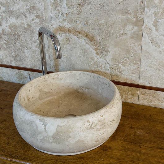 Lavabi in pietra lavandini in marmo lavabo in travertino - Lavabo bagno marmo prezzi ...
