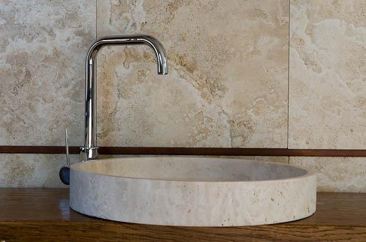 Lavabi in pietra lavandini in marmo lavabo in travertino lavabo in pietra da appoggio - Lavandini bagno da appoggio ...