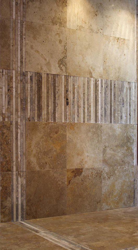 Mosaici in pietra naturale per rivestimento bagni - Bagno rivestimento pietra ...