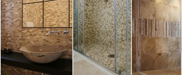 Pavimenti e rivestimenti in marmo - Mosaici per doccia ...