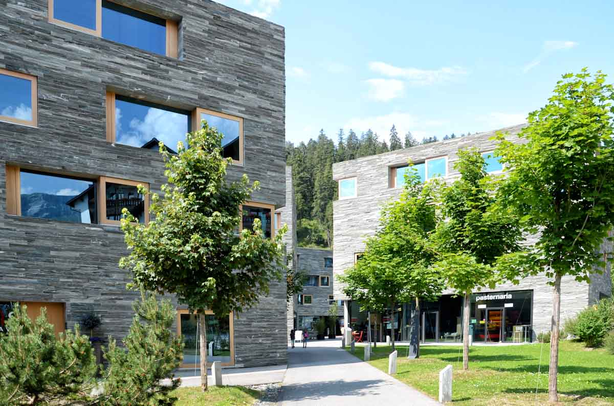 Fassadengestaltung stein  Fassaden aus Stein in der Architektur von heute | Toskana Naturstein