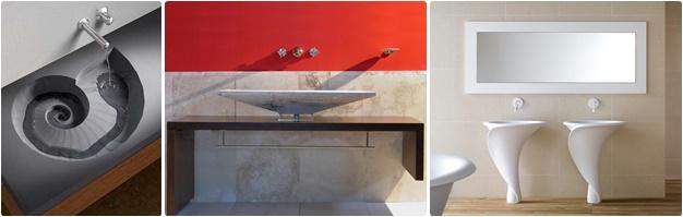 Tipologie dei lavabi da bagno