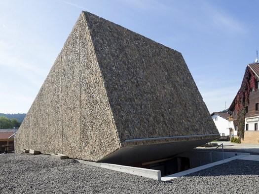 progetto concert hall in pietra a blaibach baviera