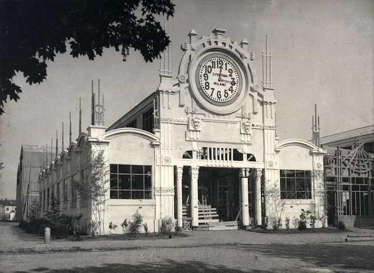 Esposizione universale milano 1906 expo padiglione for Esposizione design milano