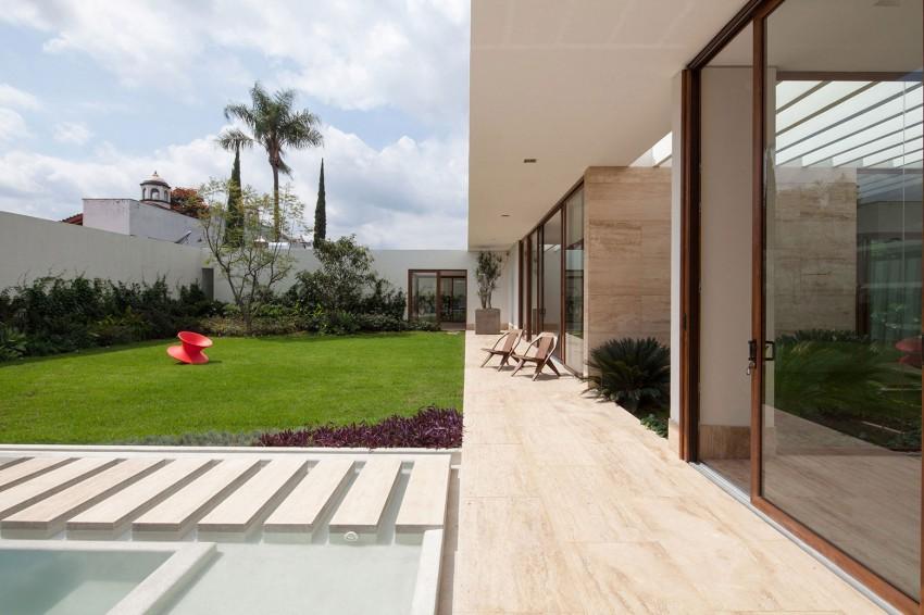 Progetti Per Esterni : Esterni in travertino per casa con otto giardini
