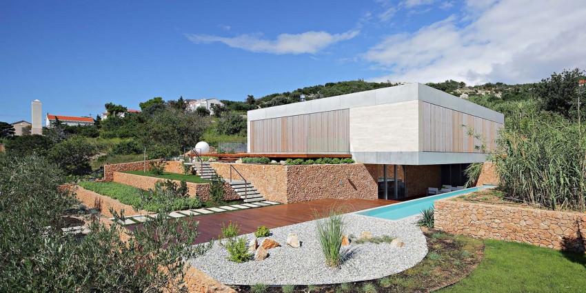 olive house abitazione isola di pago croazia