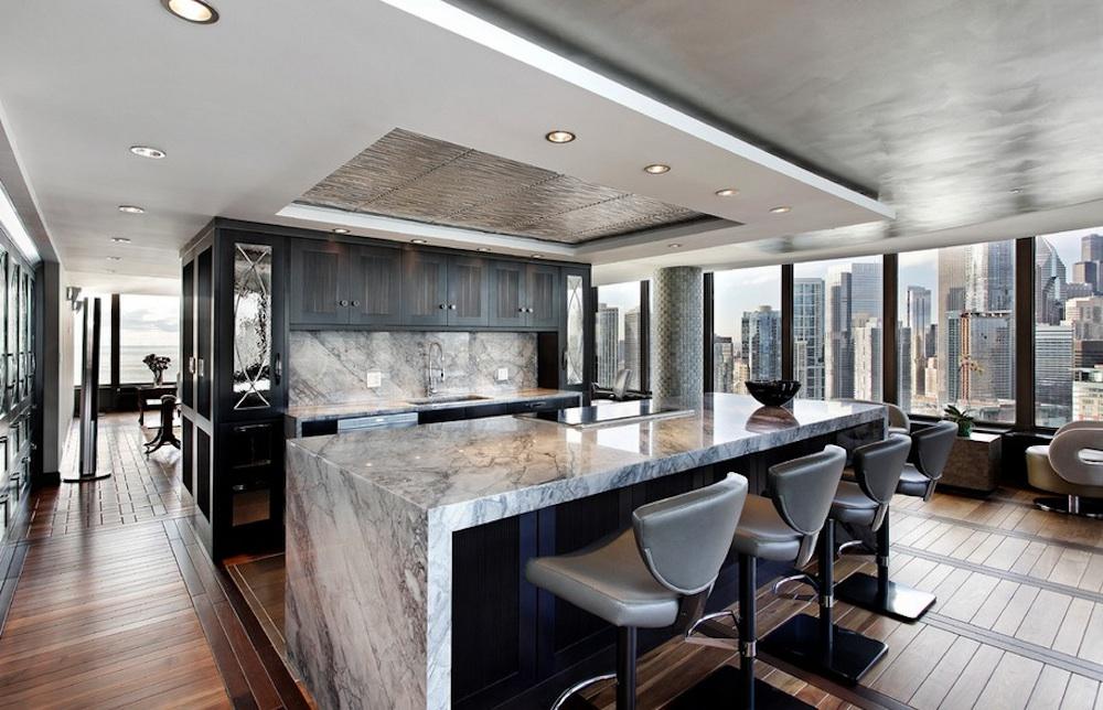 Come inserire il marmo nel vostro progetto di interior for Tavolo marmo design