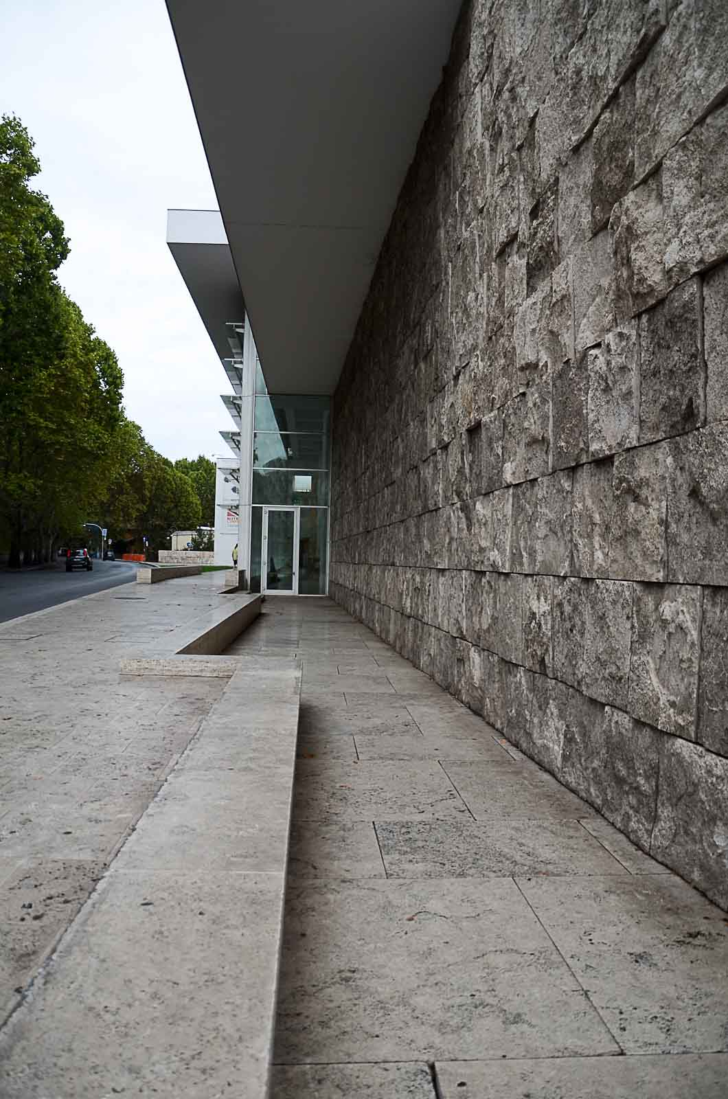 ara pacis travertino a spacco rivestimenti richard meier