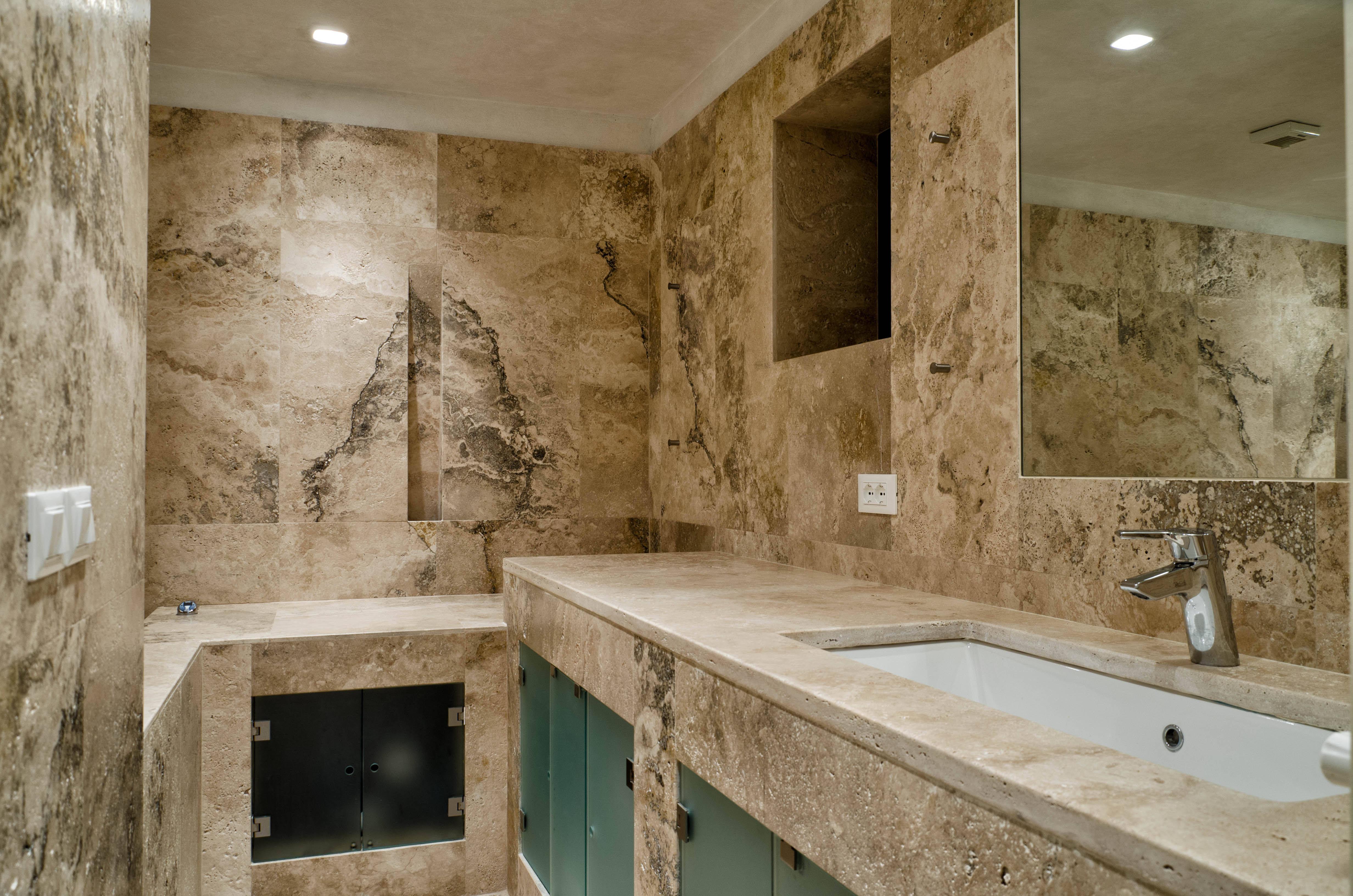 Rivestimento In Legno Per Vasca Da Bagno : Il bagno come una spa: naturale e attento al benessere