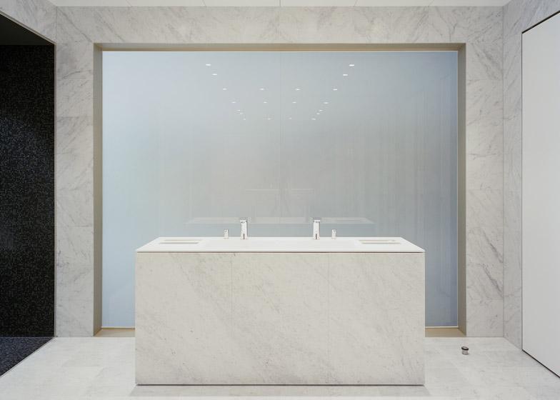 Bagno marmo moderno le ultime idee sulla casa e sul - Rivestimenti bagno prezzi stock ...