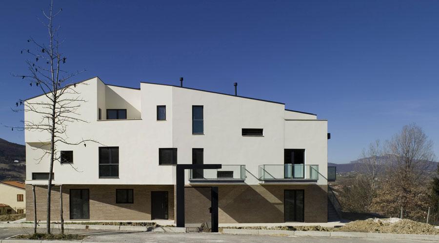 architetto lorenzo rossi residenze fabriano rivestimenti pietra