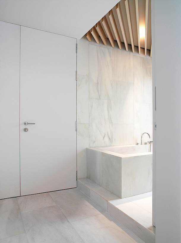 Bagno in marmo - Bagno in marmo bianco ...