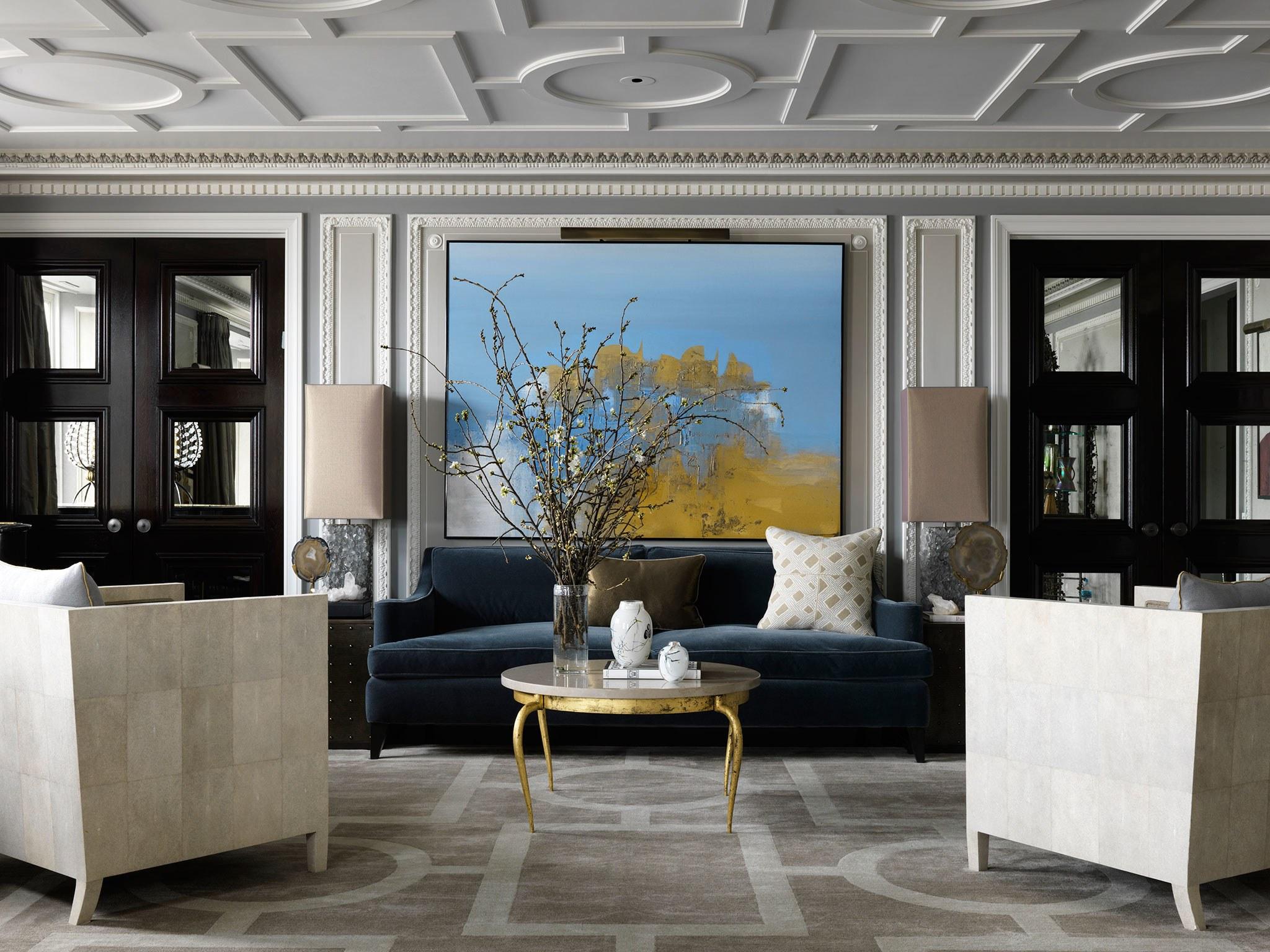 soggiorno lussuoso chicago interni jean louis deniot designer