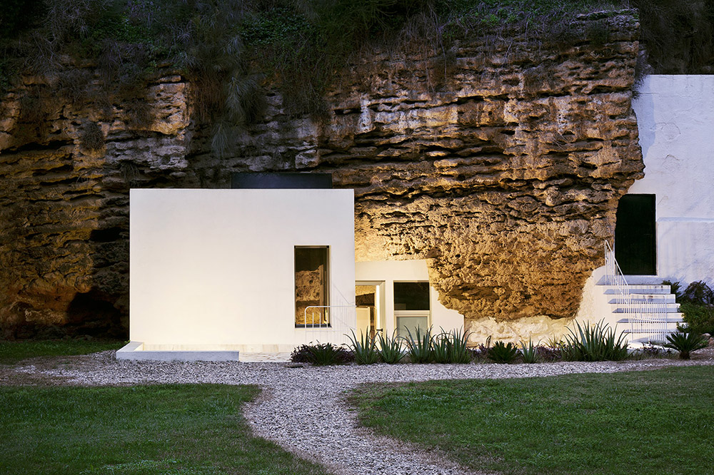 ummo estudio siviglia cave house architettura moderna