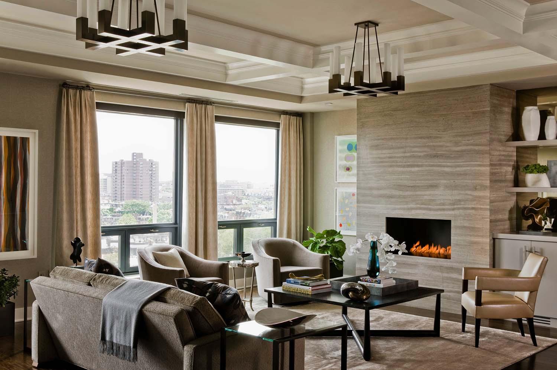 Interni di lusso in appartamento nel centro di boston for Interni appartamenti di lusso