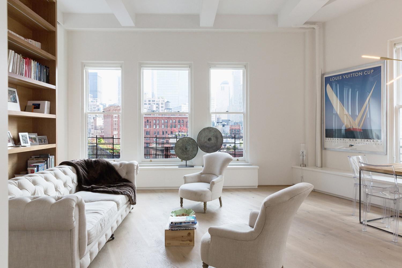 interni soggiorno loft new york dieter vander velpen